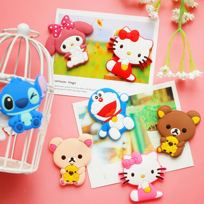 q超萌可爱小动物冰箱贴 创意树脂立体磁贴
