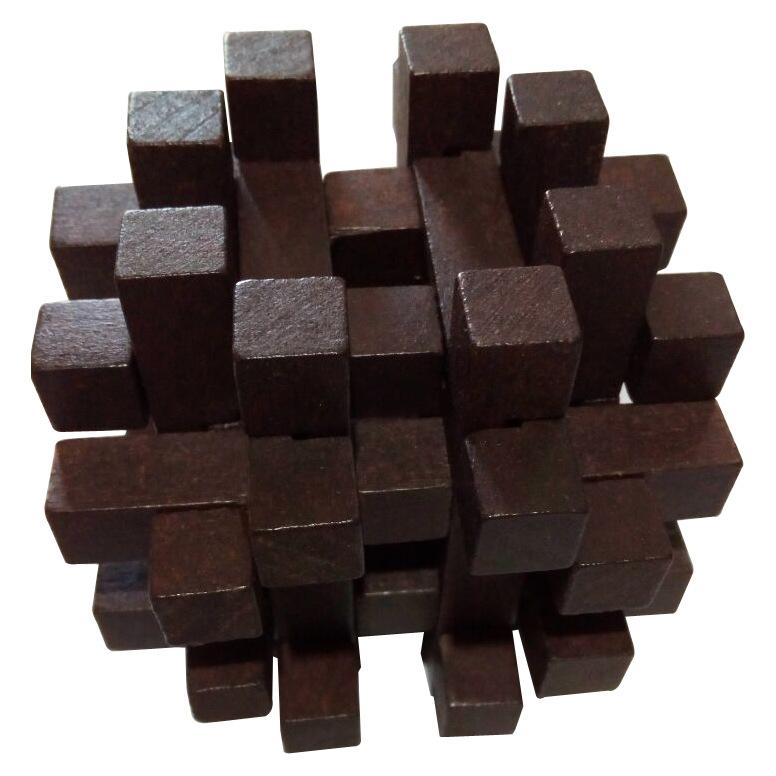 黑色双十字笼儿童智力玩具成人益智解锁鲁班