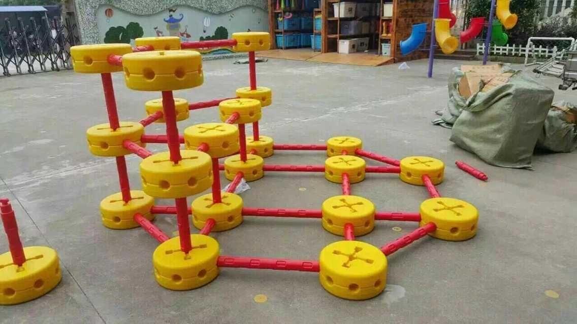 儿童大型钻洞攀爬积木玩具幼儿园户外体育教