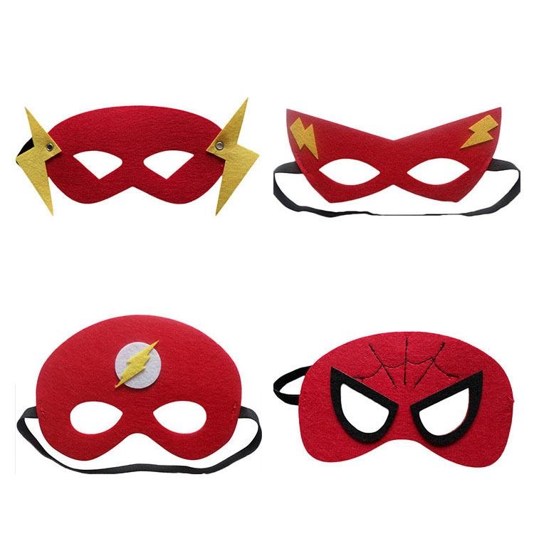 圣诞节化妆舞台装扮面具眼罩蜘蛛侠超人蝙蝠