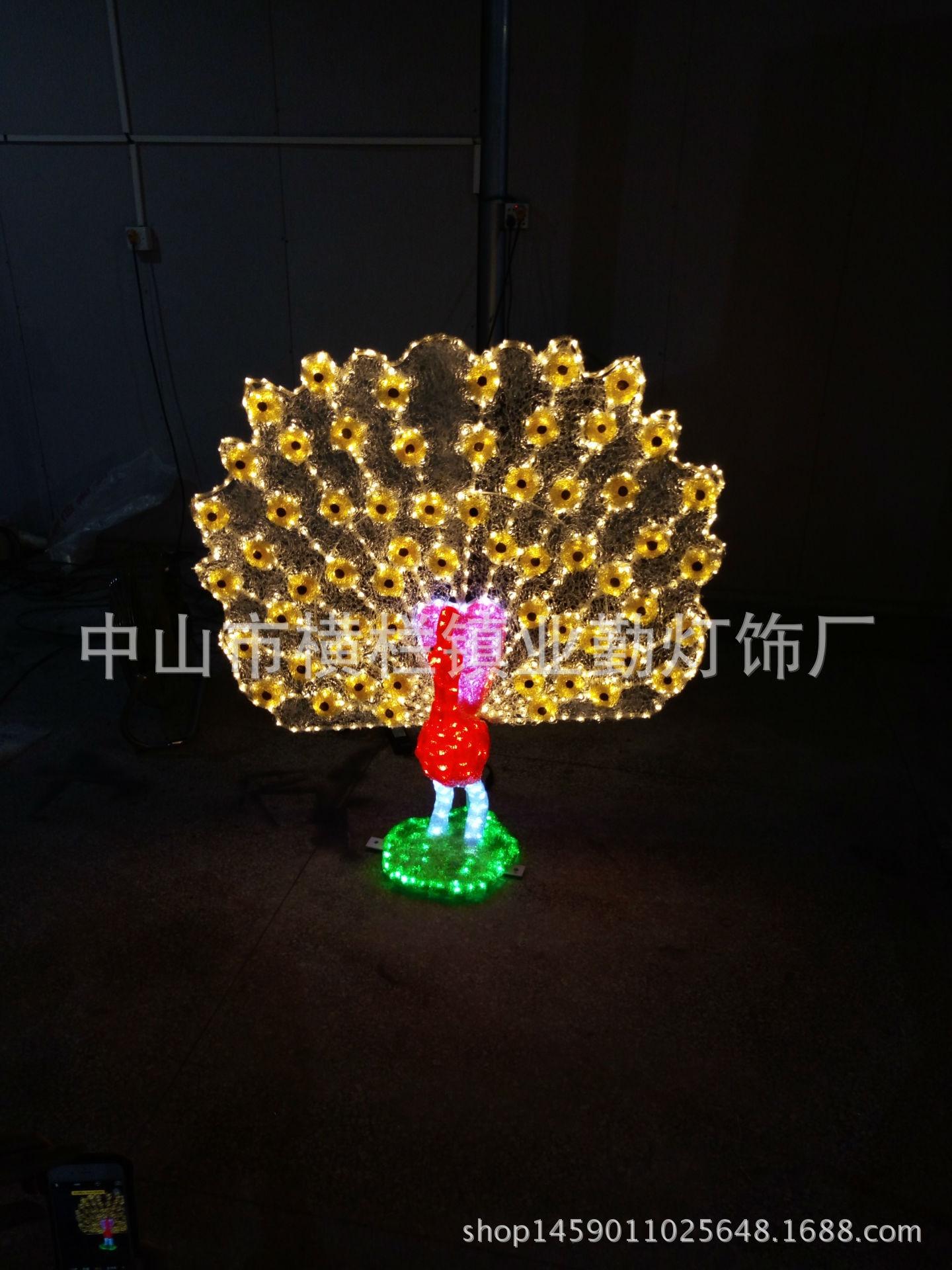 led动物图案3d造型景观装饰灯公园工程