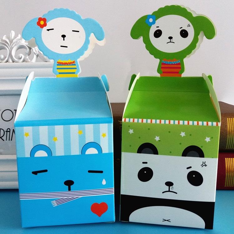 纸箱熊猫手工制作