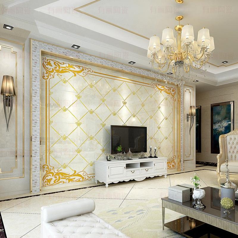 佛山济海云帆建材科技有限公司 供应信息 内墙砖 瓷砖背景墙欧式 客厅