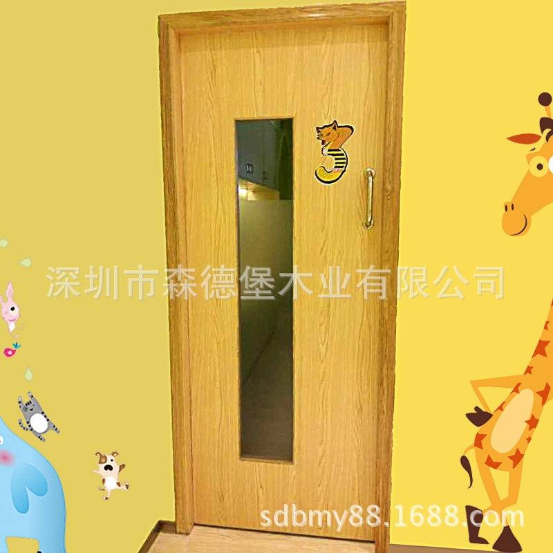 学校教室门带视窗课室门工厂专业订做批发环