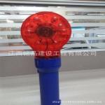 厂家批发LED交通警示灯 道路施工红色梅